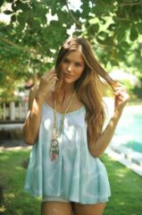 Beige Viva Tendenza Necklace Bamboo