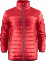 Printer Quilted Jas Expedition Man 2261057 Rood - Maat S