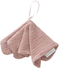 Cottonbaby Natural Soft Speendoekje Oudroze