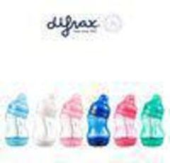 Difrax S-fles breed & klein 200 ml assorti 1 Stuks