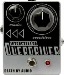 Death By Audio Interstellar Overdriver overdrive effectpedaal