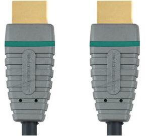 Afbeelding van Grijze Bandridge BVL1201 4K HDMI Kabel - 1 Meter