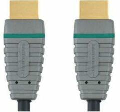 Grijze Bandridge BVL1201 4K HDMI Kabel - 1 Meter