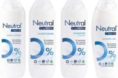 Neutral Parfumvrij - Voordeelverpakking Mix - Shampoo / Conditioner / Bodylotion / Douchegel