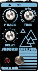Death By Audio Micro Dream lo-fi delay effectpedaal