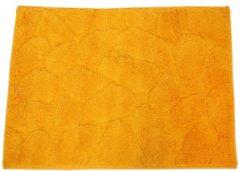 GÖZZE Badteppich Steine gelb, 50 x 70 cm