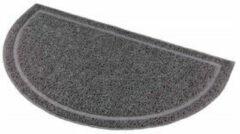 Antraciet-grijze Trixie kattenbak mat / schoonloopmat 41 x 25 cm