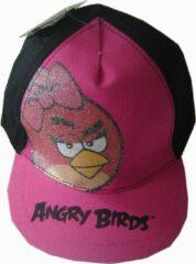 Spin Master Zwart/roze pet/cap van Angry Birds
