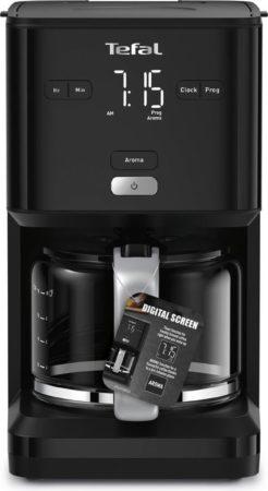 Afbeelding van Zwarte Tefal CM6008 Smart & Light Filter Koffiezetapparaat