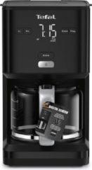 Zwarte Tefal CM6008 Smart & Light Filter Koffiezetapparaat