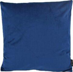 Gek op Kussens! Velvet Dark Blue Kussenhoes | Fluweel - Polyester | 45 x 45 cm | Donkerblauw
