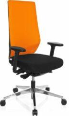 Hjh office Pro Tec 700 - Bureaustoel - Stof - Zwart / oranje