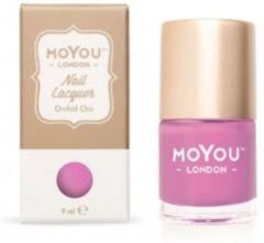 Roze Mo You London MoYou London Stempel Nagellak - Stamping Nail Polish 9ml. - Orchid Chic