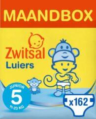 Zwitsal Luiers - Junior Maat 5 - 162 stuks - Voordeelverpakking
