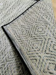 Pergamon In- und Outdoor Teppich Beidseitig Flachgewebe Hampton Schwarz... 200x290 cm