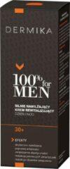 Dermika 100% voor Herencrème 30+ sterke hydraterende dag en nacht revitaliserende crème 50ml