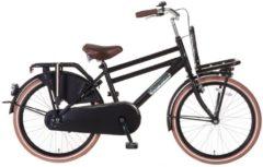"""Popal 22"""" ZOLL DAILY DUTCH BASIC 2288 HOLLAND FAHRRAD Junior Bike Kinder schwarz"""