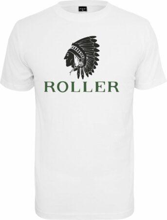 Afbeelding van Witte Mister Tee Indiaan - Roller - Indian - Casual - Streetwear - Urban T-Shirt - Shirt Heren T-shirt Maat M