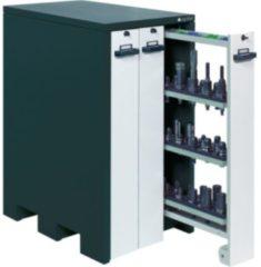 APFEL Werkzeugschrank HxBxT 1240x660x1050 mm mit 9 Werkzeughaltern RAL7016/9002