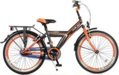 22 Zoll Popal Funjet 2208 Kinder Jungen Fahrrad Popal schwarz-orange