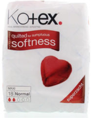 Kotex® Maxi Maandverband Normal 18 stuks