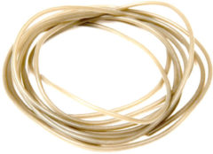 Kaki Fox Edges Anti Tangle Tube - 2m - Trans Khaki - Khaki