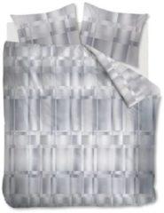 Grijze Kardol Titanium - Dekbedovertrek - Tweepersoons - 200x200/220 cm + 2 kussenslopen 60x70 cm - Grey