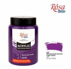 Paarse Rosa Studio Acrylverf 400 ml 419 Light Violet