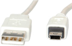 VALUE by ROTRONIC-SECOMP AG VALUE USB-Kabel - USB (M) bis Mini-USB, Typ B (M) 11.99.8708