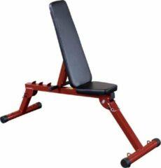 Best Fitness Body-Solid Fid Bench - Trainingsbank - Fitnessbank - Rood