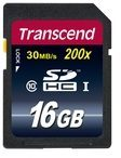 Speicherkarte Secure Digital SDHC Card 16 GB Transcend bunt/multi