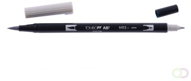 Afbeelding van Grijze Tombow ABT dual brush pen cool grey 1 ABT-N95