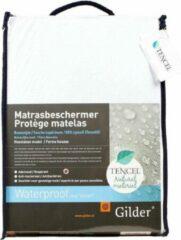 Witte Gilder Tencel Bio (waterdichte) hoeslaken 80 x 160 cm