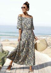 LASCANA Maxi-jurk, met bloemenprint