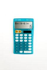 Blauwe Calculator pocket Citizen - FC100NBL Cool4School