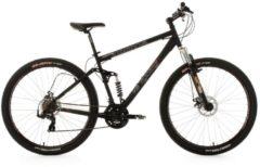 Mountainbike MTB Twentyniner Fully 29' Insomnia KS Cycling schwarz