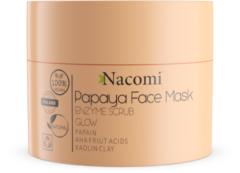 Oranje Nacomi Papaya Face Mask Enzyme Scrub Glow 50ml.