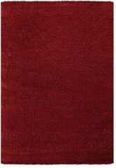Impression Himalaya Shaggy Hoogpolig Deluxe Vloerkleed Rood - 160x230 CM