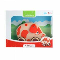 Toitoys Toi-toys Trekfiguur Varken Rood 15 Cm