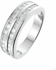 Huiscollectie 1313253 Zilveren zirkonia ring
