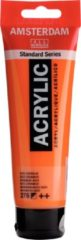 Royal Talens Amsterdam Standard acrylverf tube 120ml - 276 - Azo oranje - halfdekkend