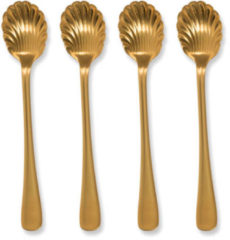 Urban Nature Culture Good Morning Spoon Gold, set of 4 in gift pack