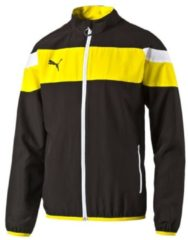 Trainingsjacke Spirit II Woven in sportlichem Design 654661-05 Puma black-cyber yellow