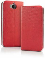 Samsung S9 Smart Magnet Wallet Case Rood - Smartphone Hoesje