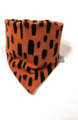 Bruine Tinymoon Unisex Sjaal – slab/bandana – Tiny Sweeps – Stone – Maat 0 tot 1,5 jaar