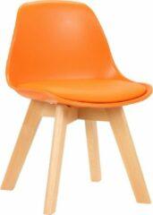 Clp Lindi Kinderstoel - Kunstleer - Oranje