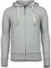 Bread & Buttons Casual Vest - Sweater Heren Side Zippers - Grijs Heren Sweater L