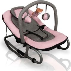 Baninni Wipstoel met speelboog - Schommelstoel - Baby Relax - Admiro Roze