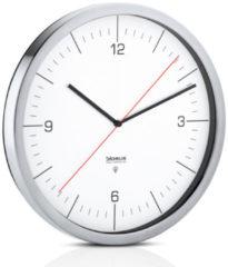 Zilveren Blomus Crono Radio Controlled Wandklok Ø 30,5 cm