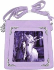 Anne Stokes The World of 3D Anne Stokes schoudertas met 3D afbeelding Solace Unicorn